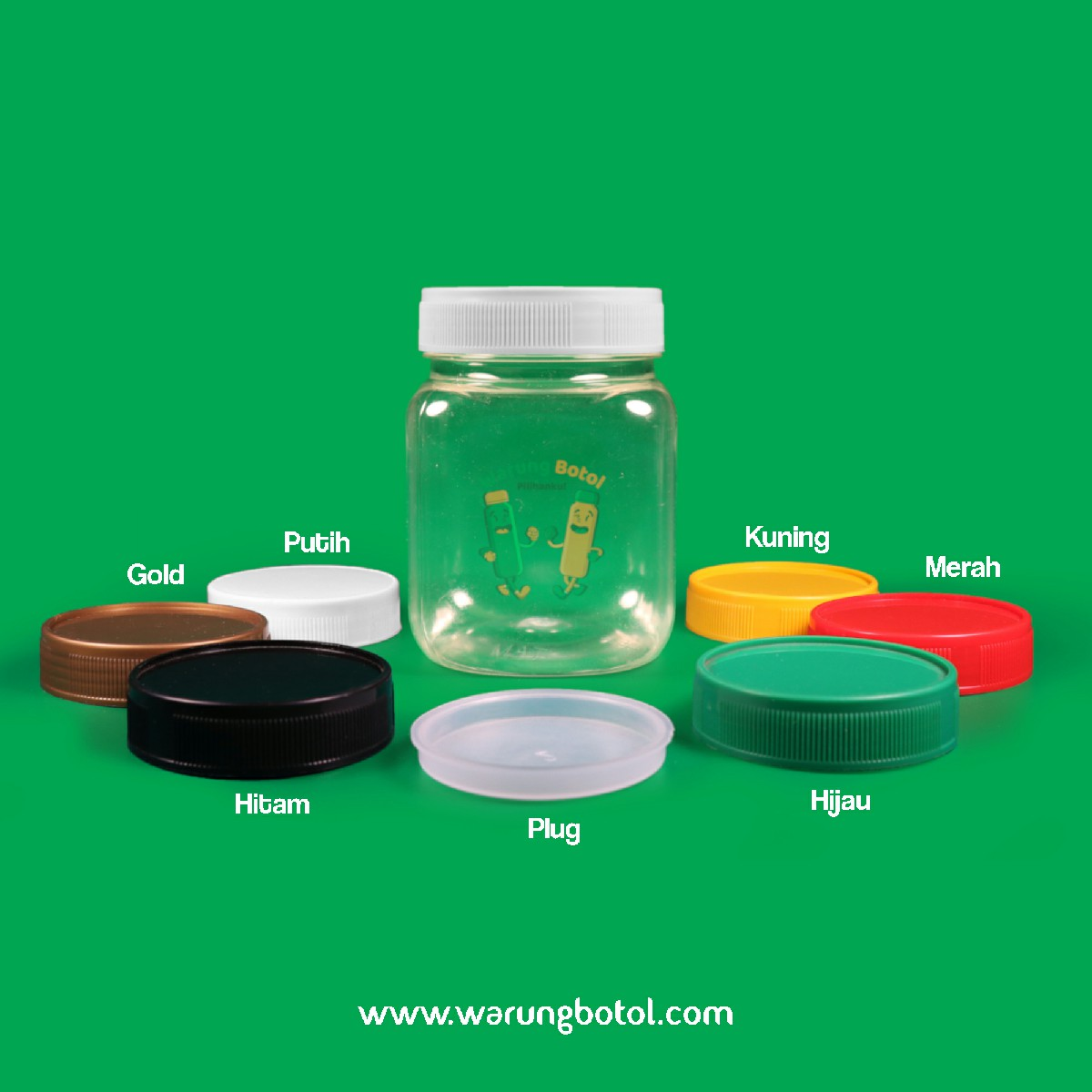 distributor toko jual toples botol plastik sambal kotak 210ml murah untuk sambel terdekat di bandung, jakarta, bekasi, bogor