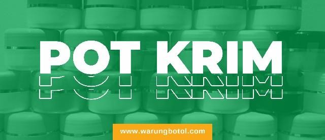 Warung Botol Pot Krim