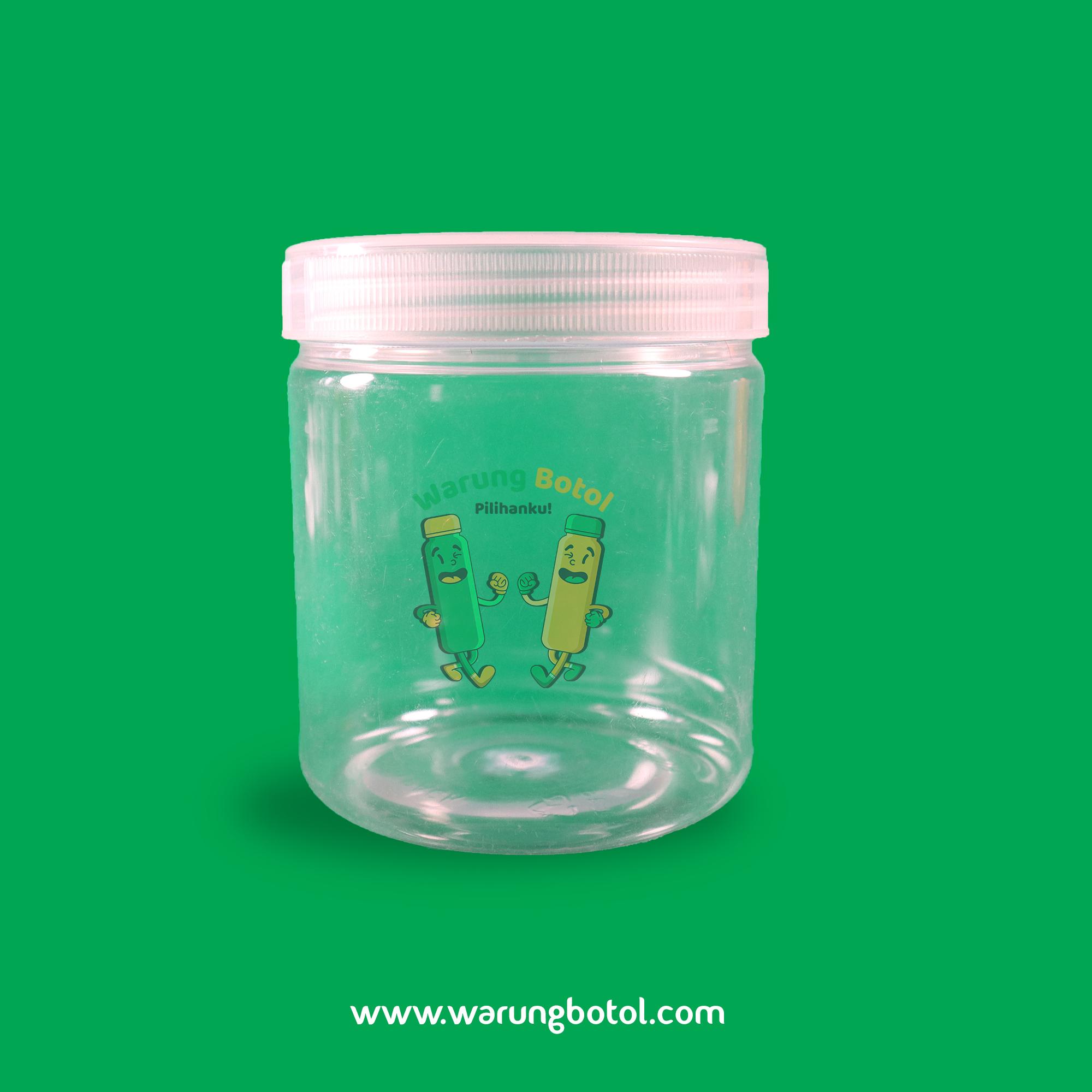 distributor jual toples plastik murah silinder 500ml untuk astor kue kering lebaran coktlat, nastar terdekat di bandung jakarta bekasi bogor