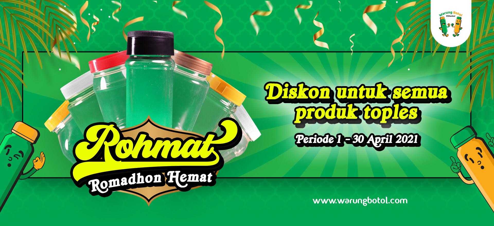 Romadon Hemat, Promo Toples murah