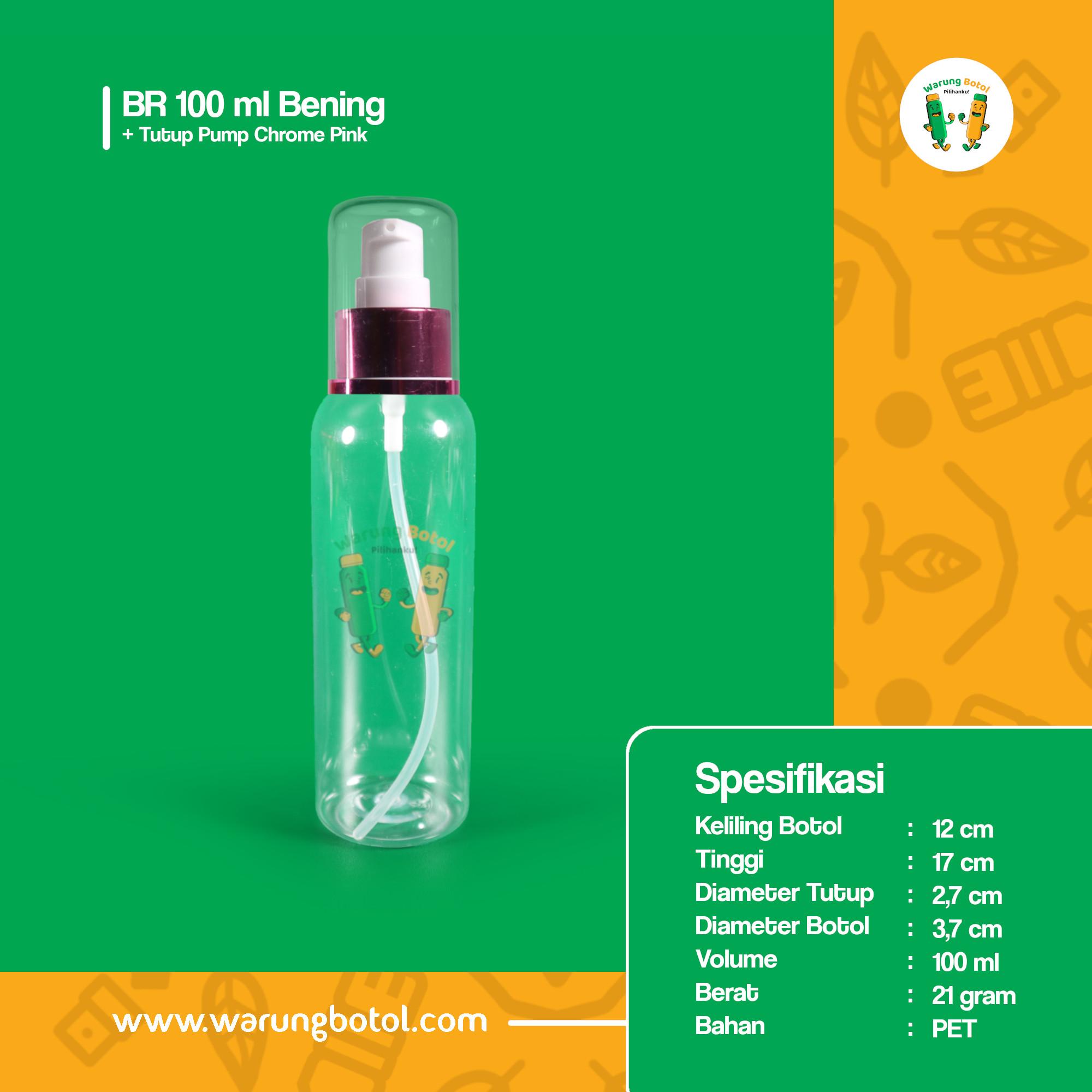 distributor jual botol plastik spray untuk handsanitizer 100ml bening murah terdekat di bandung jakarta bogor bekasi
