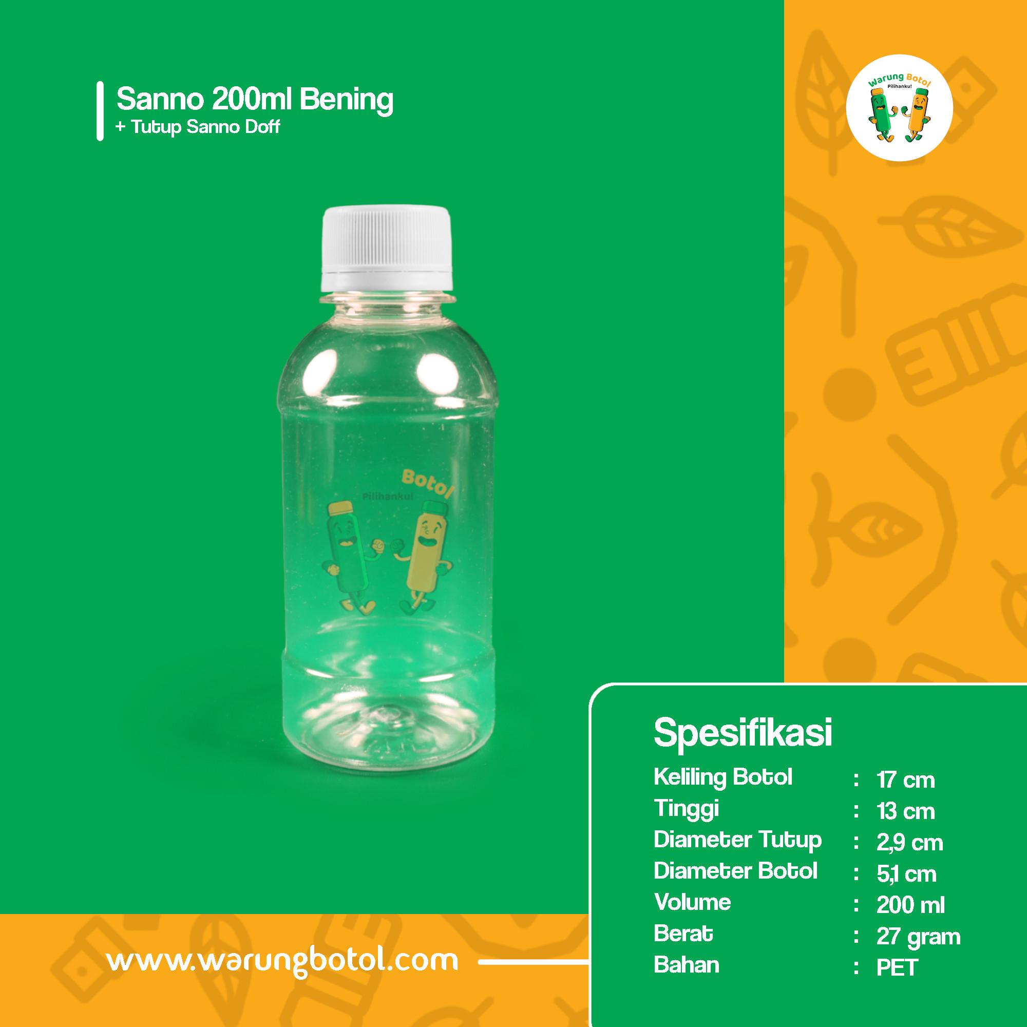 distributor jual botol palastik murah dan unik 200ml untuk kopi jus, minuman, susu soda boba terdekat di bandung jakarta bekasi bogor