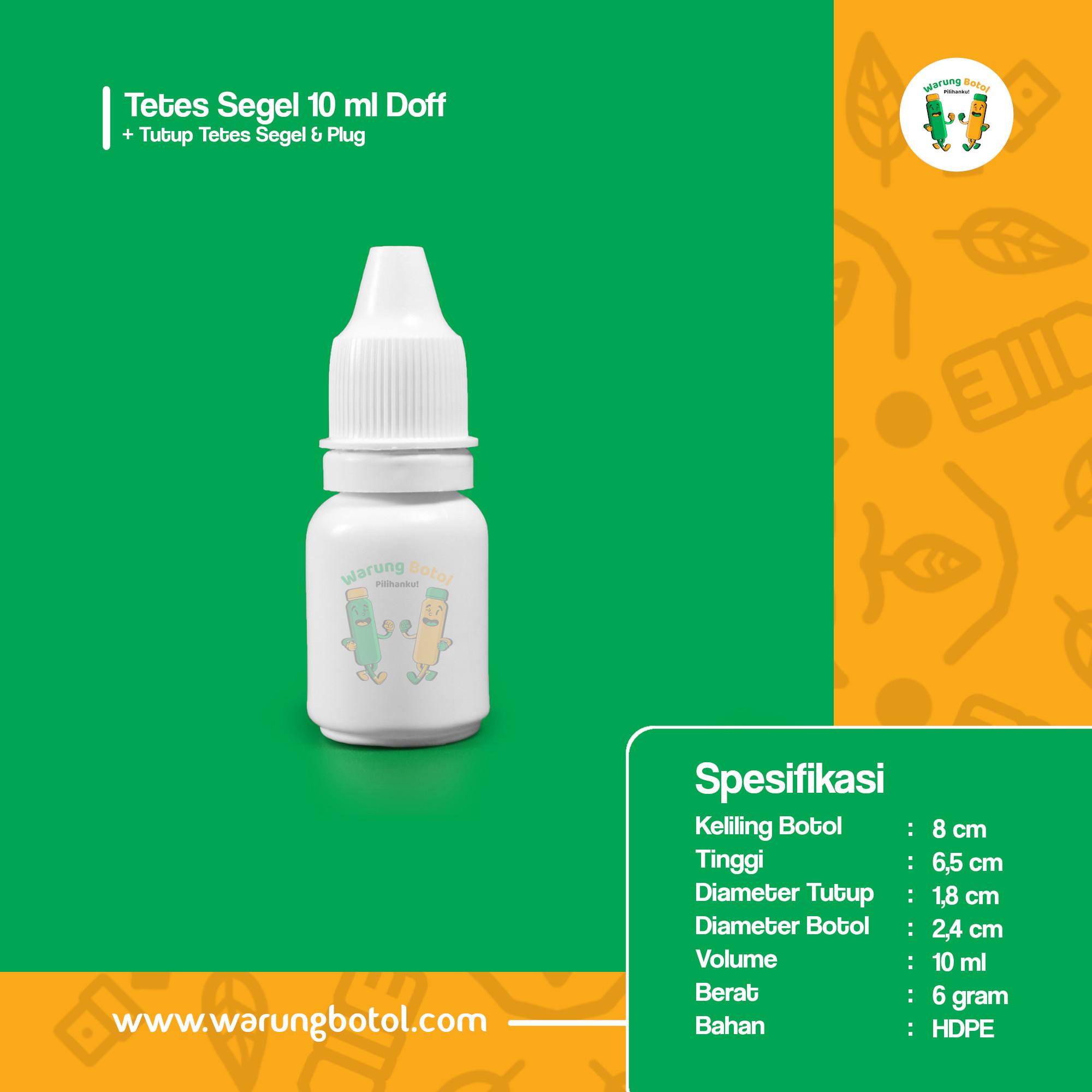 distributor toko jual botol plastik untuk obat kimia tetes 10ml putih HDPE murah terdekat di bandung jakarta bogor bekasi