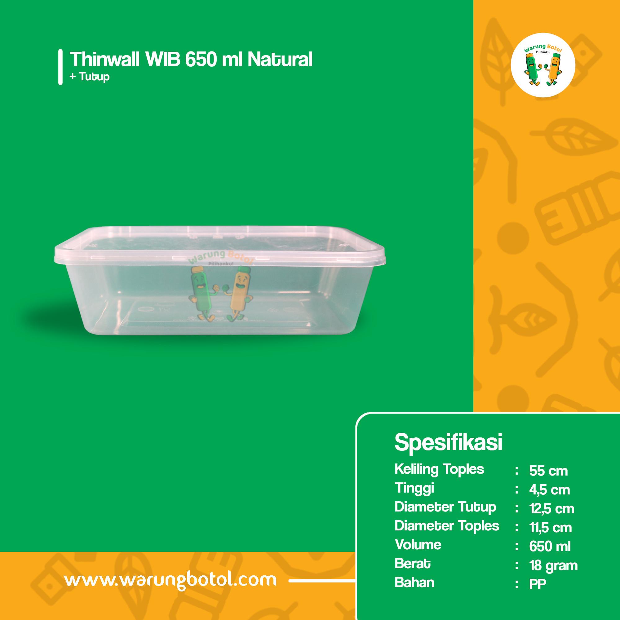 distributor toko jual thinwall kotak persegi panjang murah 650ml untuk kemasan bento anak, makanan kebab salad terdekat di bandung jakarta bekasi bogor