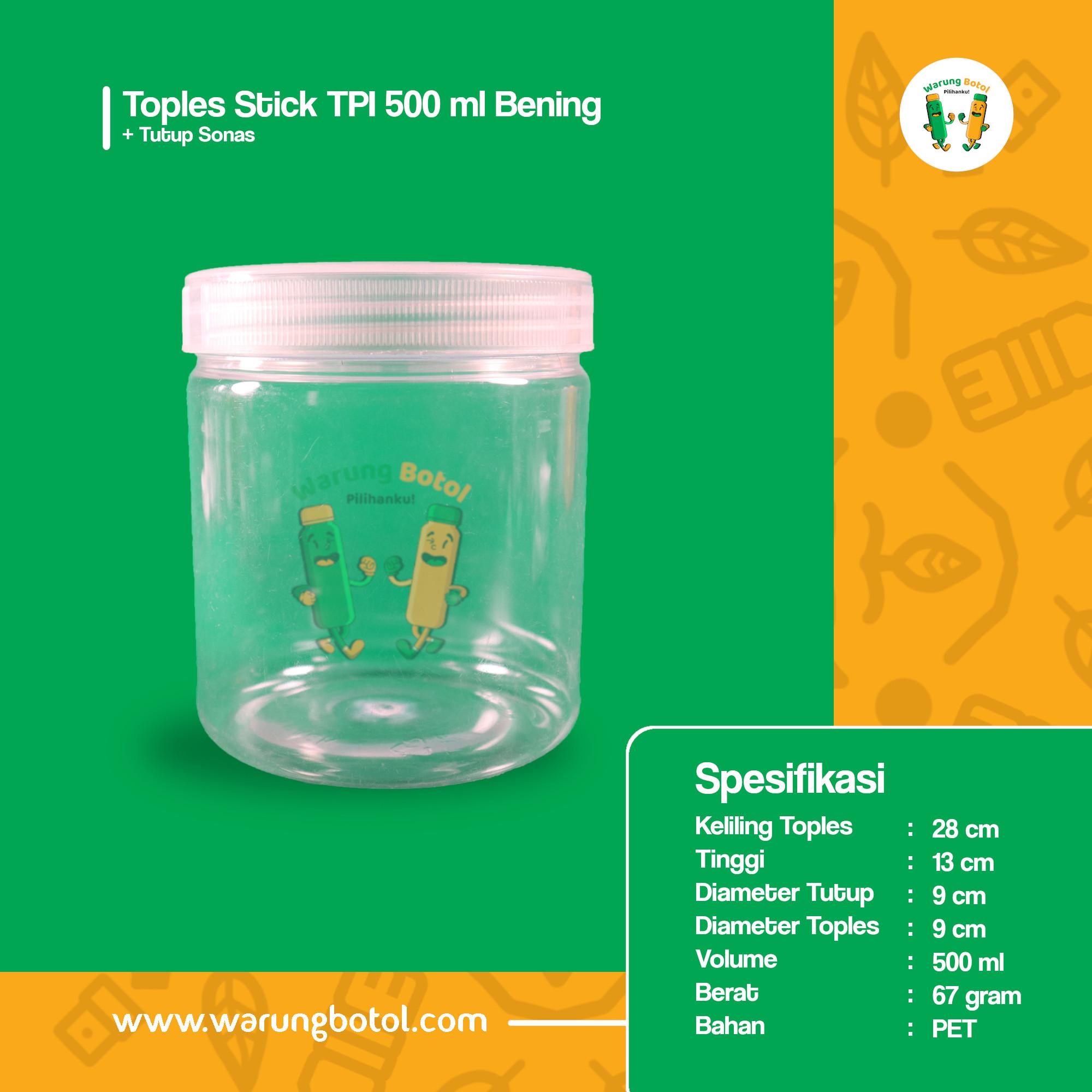 distributor toko jual toples plastik murah silinder 500ml untuk astor kue kering lebaran coktlat, nastar terdekat di bandung jakarta bekasi bogor
