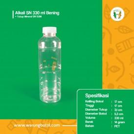 Foto Botol Alkali SN 330 ml Bening