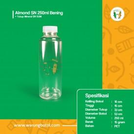 Foto Botol Almond SN 250 ml Bening