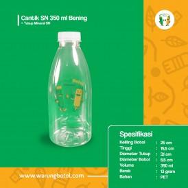 Foto Botol Cantik SN 350 ml Bening