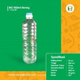 Foto Botol MG 1000 ml Bening