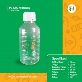 Foto Botol PS 1000 ml Bening