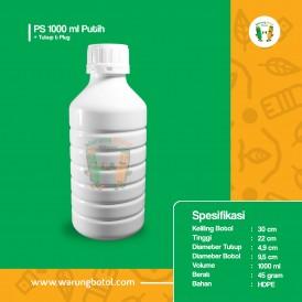 Foto Botol PS 1000 ml Putih