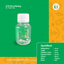 Foto Botol PS 50 ml Bening