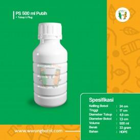 Foto Botol PS 500 ml Putih