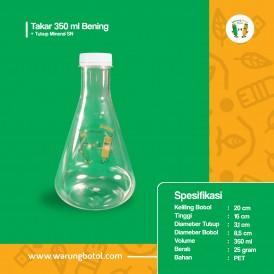 Foto Botol Takar 350 ml Bening