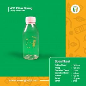 Foto Botol VCO 100 ml Bening