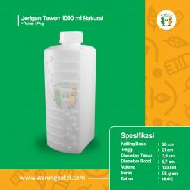 Foto Jerigen Tawon 1000 ml Natural