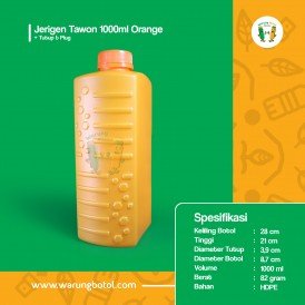 Foto Jerigen Tawon 1000 ml Orange