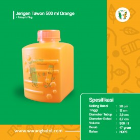 Foto Jerigen Tawon 500 ml Orange