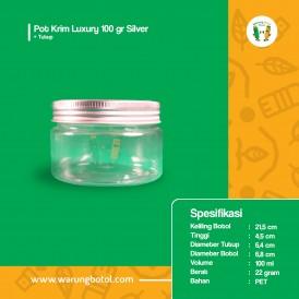 Pot Krim Luxury 100 gr Silver