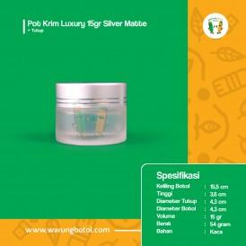Pot Krim Luxury 15 gr Silver Matte