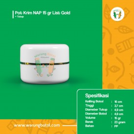 Pot Krim NAP 15 gr List Gold