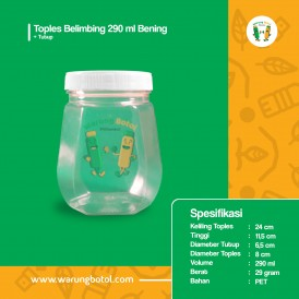 Toples Belimbing 290 ml Bening