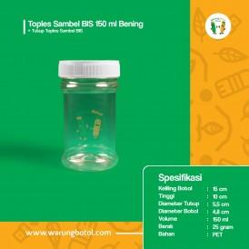 Foto Toples Sambel BIS 150 ml Bening