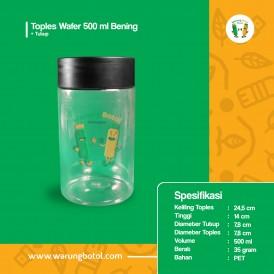 Toples Wafer 500 ml Bening