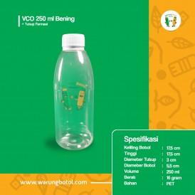 Foto Botol VCO 250 ml Bening