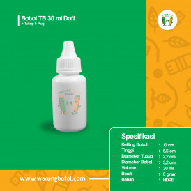 Foto Botol Tetes TB 30 ml Doff